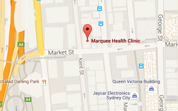 Contact Marquee Health Clinic